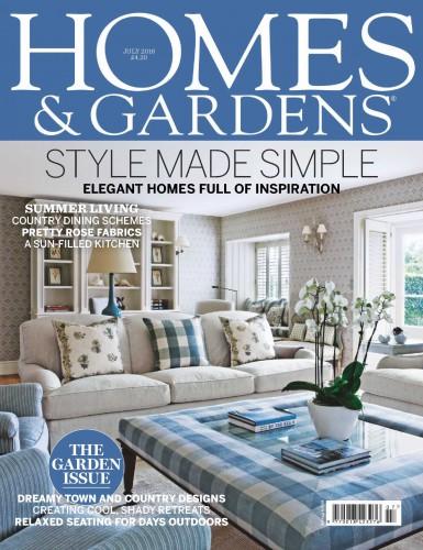 مجله Homes & Gardens جولای 2016