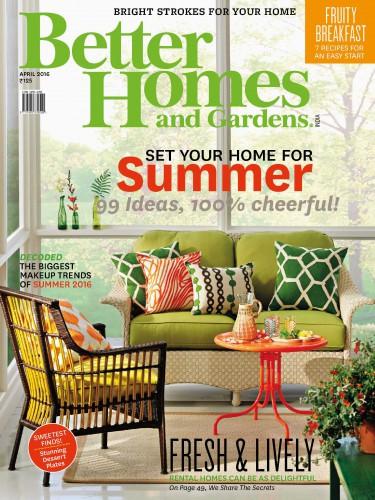 مجله Better Homes & Gardens  آوریل 2016