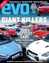 مجله ماشین EVO UK July 2016