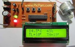 دانلود طراحی و ساخت مداری جهت کنترل دما