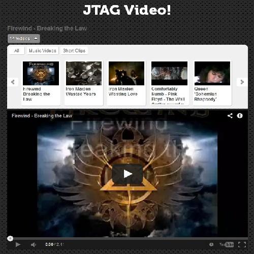 دانلود کامپوننت نمایش ویدئو JTAG Video