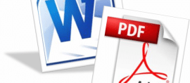 آموزش تبدیل word به pdf