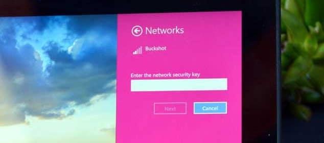 چگونه در ویندوز ۸/۱ رمزعبور وای فای خود را بیابیم؟