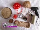 آموزش درست کردن سبزه عروسکی برای عید نوروز