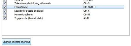 آموزش ایجاد کلیدهای میانبر در اسکایپ