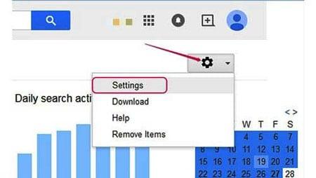 پاک کردن اطلاعات در گوگل