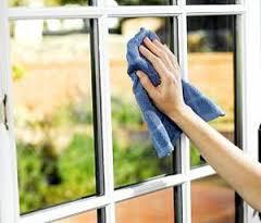 اصول تمیز کردن در و پنجره