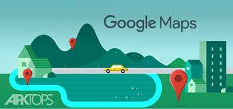 نقشه های آفلاین گوگل مپ