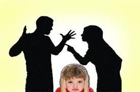 حد و مرز مشاجرات والدین جلوی کودکان