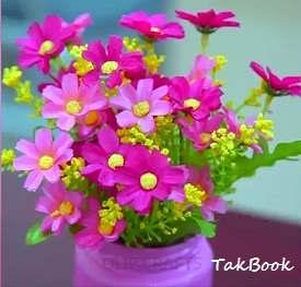 دکور خانه با گلدان های شکیل