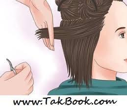 حرفه ای موهای خود را کوتاه کنید